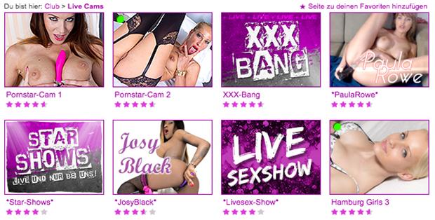 Sexcams, XXX-Bang und Starshows: All das gibt es auf Fundorado