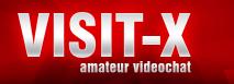 Visit-X: Das Logo des Sexcam-Anbieters