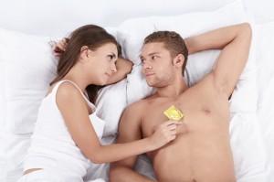 Bei Hobbyhuren und in Bordellen heißt es immer: Safer-Sex!