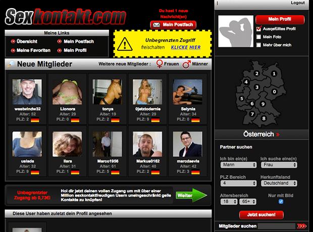 Sexkontakt.com hinter den Kulissen wenn du Mitglied bist