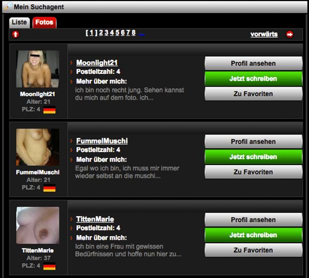 Geile Sexkontakte suchen täglich Sexdates auf Sexkontakt.com