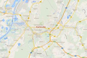 Die Karte vom Sexdate-Ort Karlsruhe