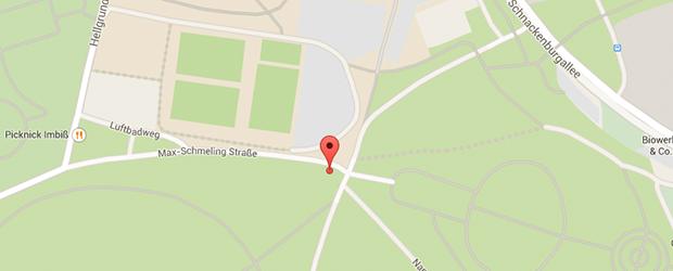 Parkplatztreff: Volkspark neben Imtech-Arena