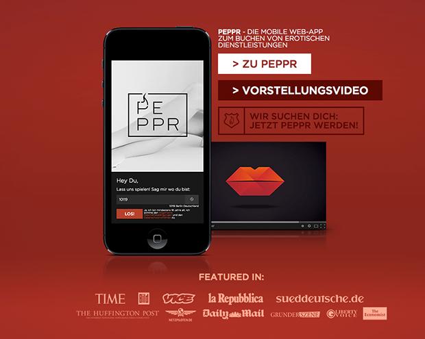 Peppr.it - Einfach Nutten via Smartphone bestellen