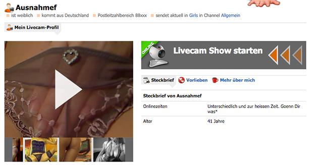 MILF-Sexcams? Auf Live6.com kein Problem!