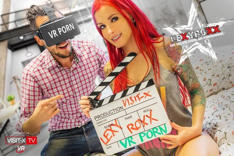 Der erste Virtual-Reality Porno aus Deutschland – mit Lexy Roxx!