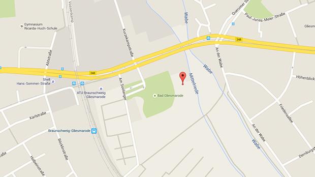 Parkplatzsex Braunschweig: Die große Wiese am Giesmaroder Bad