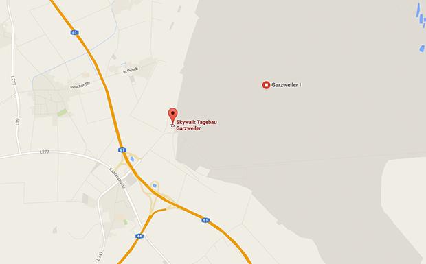 Garzweiler: Aussichtspunkt und Treffpunkt für Parkplatzsex