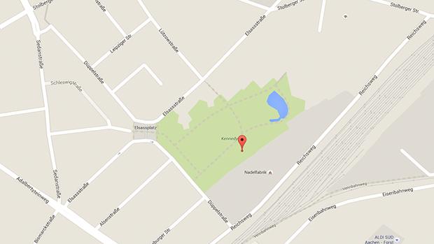Der Kennedypark in Aachen ist ein beliebter Treffpunkt für Parkplatzsex