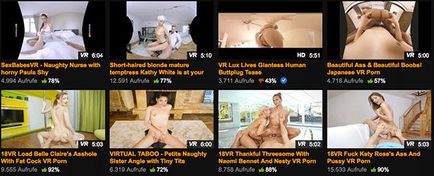 PornHub VR: Die erste kostenlose Porntube für VR Pornos