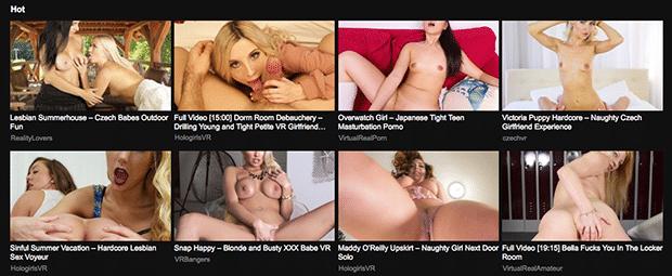 VRPorn.com ist eine der größten Pornoseiten für VR Sex
