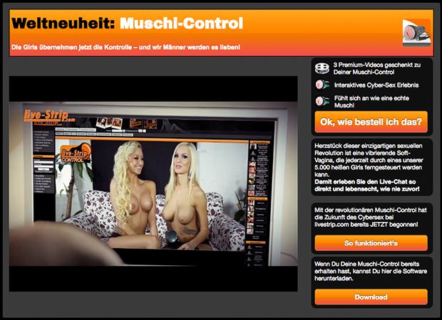 MuschiControl - Eines der beliebtesten Features