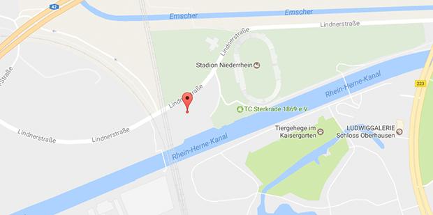 Direkt am Stadion Niederrhein in Oberhausen findest du Gay Parkplatzsex