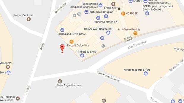 Parkplatzsex und Cruising am Anger 1 in Erfurt