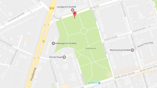 Parkplatzsex und Outdoor-Sex in Krefeld im Stadtgarten