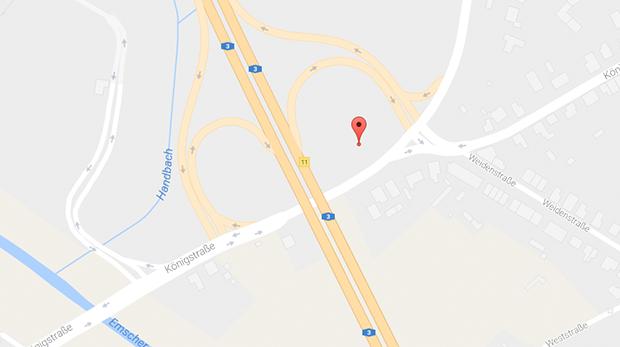 An der A3 findest du auf einem Park&Ride Parkplatz geilen Parkplatzsex in Oberhausen
