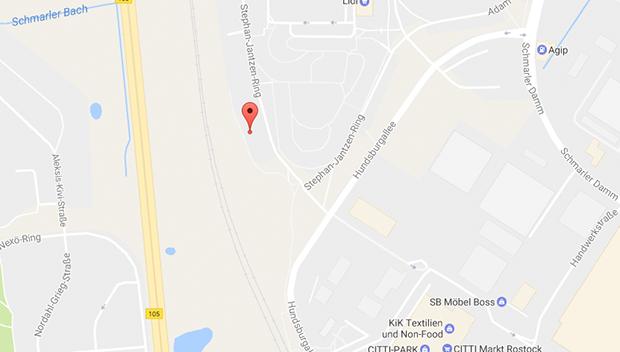 Am Stephan-Jantzen-Ring findest du einen großen Parkplatz für Parkplatzsex