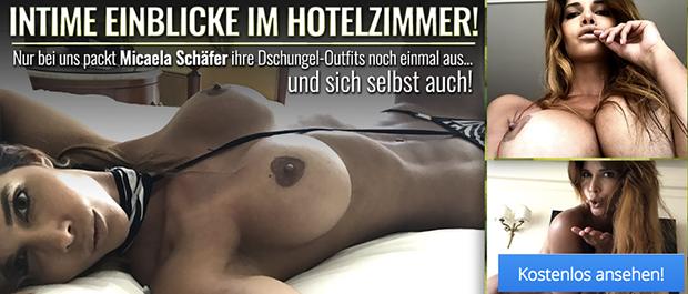 Micaela Schäfer nackt auf dem Hotelzimmer: Erotisches Video jetzt anschauen