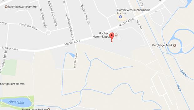Mark Allee hinter der Hochschule Lippstadt gibt es geilen Parkplatzsex in Hamm