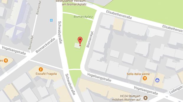 Der Bismarckplatz wird auch gerne für Gay Cruising in Stuttgart genutzt