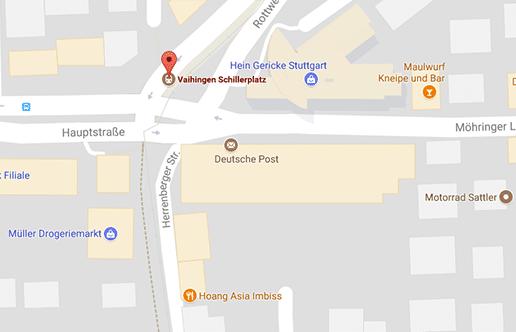 Stuttgart Vaihingen: Am Schillerplatz gibt es eine Gay Klappe