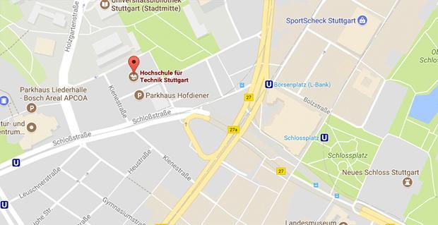 In der technischen Hochschule von Stuttgart treffen sich Studenten zum Gay Cruising