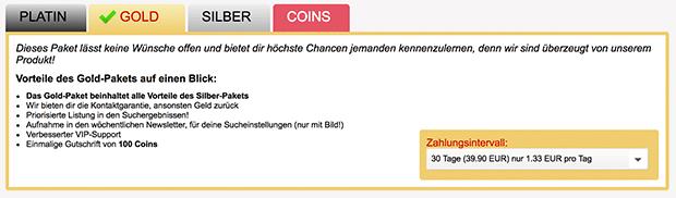 Die Preise und Kosten von Fremdgehen69 für Premium-Mitgliedschaften