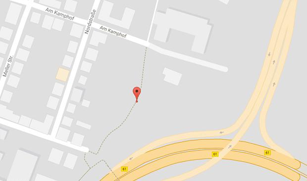 Am Kamphof: Bielefelder Gay Cruising Treff