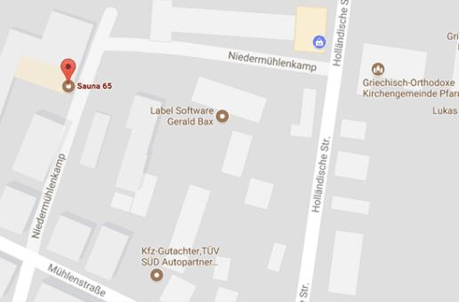 Sauna 65: Gay Sauna und Treffpunkt für Gay Cruising Bielefeld