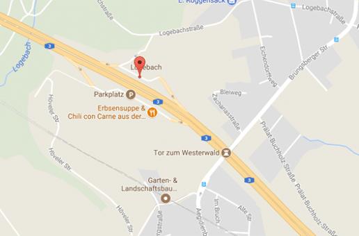 Auf der A3 findet man auf dem Parkplatz Logebach geilen Gay Parkplatzsex