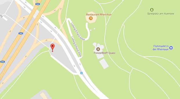 Gay Autosex in Bonn direkt neben der Rheinaue