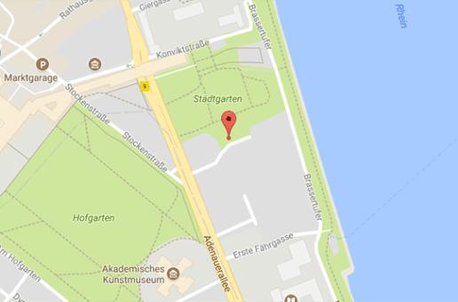 Im Stadtgarten von Bonn findet Gay Cruising statt