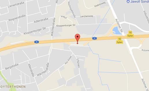 Auf der A1, direkt hinter Bremen gibts schnellen Sex beim Gay-Parkplatzsex