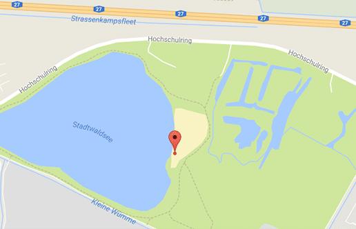Der FKK-Bereich vom Stadtwaldsee wird oft als Cruising Area genutzt