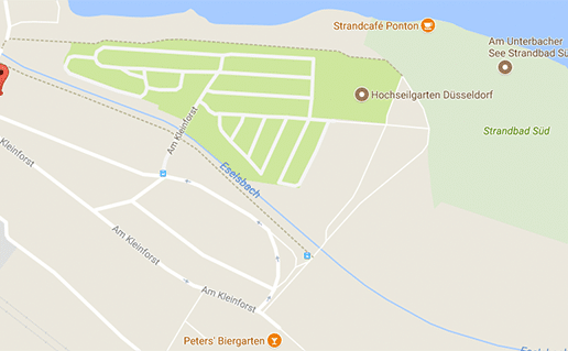 Am Unterbacher See in Düsseldorf findet man täglich Gay Parkplatzsex