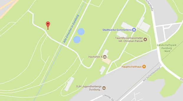 Im Landschaftspark Nord von Duisburg findest du geilen Gay Sex