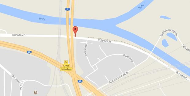 Gay Cruising am Ruhrdeich in Duisburg