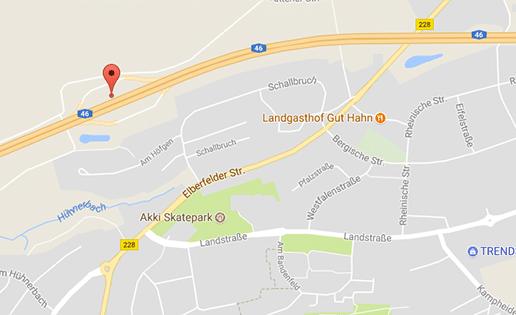 Gay Cruising auf der Autobahn A46 in Richtung Düsseldorf