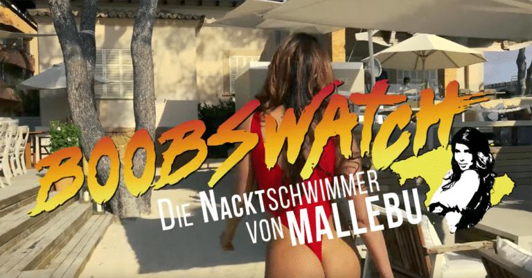 Boobswatch: Micaela Schäfer nackt als sexy Badenixe