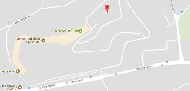 Der Parkplatz vom Alpincenter wird oft für Parkplatzsex in Bottrop genutzt