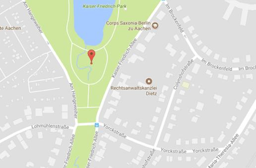 Gay Cruising in Aachen gibt es auch im Park