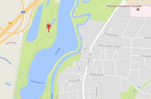 Eine große Cruising Area für Gays findet man am Braunschweiger Südsee