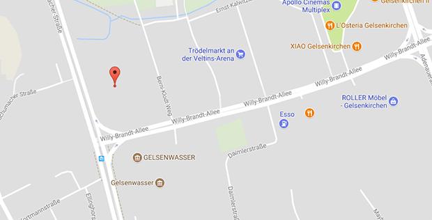 An der Veltins Arena in Gelsenkirchen findet man Gay Parkplatzsex und Cruising
