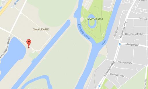 Gay Cruising Halle-Saale an einem See an der Pferderennbahn