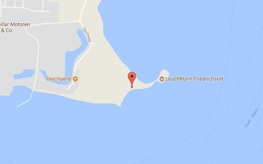 Gay Cruising Kiel am FKK Strand Friedrichsort zwischen FKK Strand und Leuchtturm