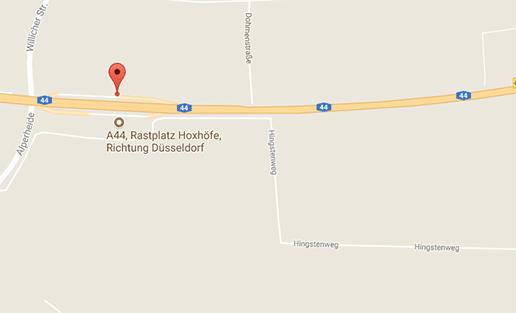 Gay Parkplatzsex auf der A44 bei Krefeld auf dem Rastplatz Hoxhöfe