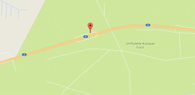 """Auf der A2 gibt es auf den Parkplätzen """"Krähenberge"""" geilen Gay Parkplatzsex"""